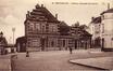 Station de la chaussée de Louvain, cachet de la poste de 1908 (Collection de Dexia Banque)