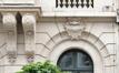 Rue Royale 288, consoles jumelées, clef en forme de cartouche et signature, 2018