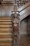 Rue Royale 288, montant de rampe d'escalier représentant une sphinge grecque, 2018