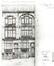 Rue Tiberghien 10 et 12, projet de 1904 (ACSJ/Urb./TP 6684).