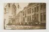 Soldats allemands devant l'église et le palais abbatial, 1914© (coll. Belfius Banque-Académie royale de Belgique © ARB-SPRB)