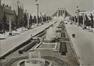Zicht op de Eeuwfeestlaan tijdens de Wereldtentoonstelling van 1935 (verz. Belfius Bank © RAB-GOB)