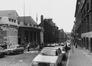 Rue Ernest Allard. Ancienne École Moyenne A, Athénee Robert Catteau, vue d'ensemble, 1980