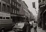 rue Haute 129 à …, vue vers la place de la Chapelle., 1980