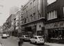 rue Haute 130 à …, vue vers la place de la Chapelle., 1980