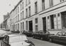 Wolstraat, onpare nummers, straatbeeld vanuit Kleine Zavel, 1980