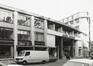 Galerie Ravenstein, façade et entrée rue Ravenstein, 1980