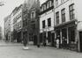 Rue de Rollebeek, numéros impairs, vue depuis la rue Haute, 1980