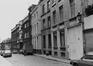 rue des Capucins, n° pairs, aspect rue, depuis la rue Blaes vers la rue des Tanneurs, 1980