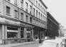 rue Duquesnoy, n° pairs, aspect rue, 1980