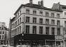 Rue du Midi 43-45, angle rue du Marché au Charbon, 1980