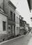 rue des Renards, n° impairs, vue depuis la rue Haute., 1980