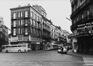 rue Antoine Dansaert vue depuis la porte de Flandre., 1978