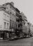 rue de Flandre, n° pairs, vue depuis la place Sainte-Catherine., 1978