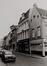 rue de Flandre, n° impairs. Maison traditionnelle, vue depuis la place Sainte-Catherine., 1978