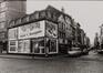 rue de Flandre, n° pairs, aspect rue depuis la rue du Rempart des Moines vers la Porte de Flandre., 1978