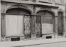 rue de Flandre 183-183A, détail rez., 1978