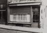 rue de Flandre 165. Arrière maison traditionnelle, détail rez., 1978