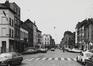 Zennestraat, straatbeeld tussen Slachthuisstraat naar Slachthuislaan, 1979