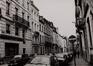 rue du Gouvernement Provisoire, n° impairs, vue vers la rue Royale., 1985