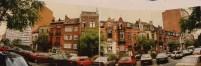 Laatste straatgedeelte van de Karel de Grotelaan aan pare kant in 1988, SAB/OW 90544 (1988).