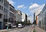 Chaussée d'Anvers, vue depuis le boulevard Baudouin, 2016