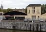 Vue de l'ancienne scierie Istas & Soille, avenue du Port 53, depuis le bassin Béco© ARCHistory / APEB, 2017