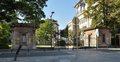 Parc Léopold, pavillon d'entrée rue Belliard, 2015