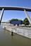 Quai des Yachts, vue depuis le pont de Laeken© ARCHistory / APEB, 2017