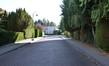 Avenue de l'Amphore, tronçon raccordé à la chaussée Romaine, vue depuis celle-ci© ARCHistory / APEB, 2018
