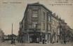 Vue des rues des Artistes à gauche et du Champ de la Couronne à droite, depuis le boulevard Bockstael© AVB/FI W-17