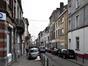 Rue du Champ de l'Église, vue depuis la rue Stéphanie vers la place de la Maison Rouge© (© APEB, 2017)