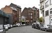 Rue Dieudonné Lefèvre, vue de la fin de la rue côté pair, vers le boulevard Bockstael© ARCHistory / APEB, 2017