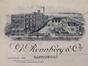 Rue Edmond Tollenaere 32, vue perspective de la raffinerie de sucre G. Ronnberg et Cie, AVB/IP II 684 (1903-1912)