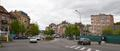 Boulevard Émile Bockstael, vue en direction de l'avenue Houba de Strooper et de la rue du Mont Saint-Alban, 2017