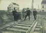 Voûtement du chemin de fer pour l'établissement de la future place Émile Bockstael en 1905© (coll/ Eric Christiaens/Laca)