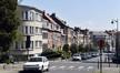 Avenue Émile Van Ermengem, vue du premier tronçon côté impair vers l'avenue Stiénon© ARCHistory / APEB, 2018