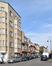 Rue François Lesnino, vue depuis la rue de la Briqueterie vers la place Joseph Benoit Willems, 2017