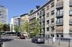 Avenue du Général de Ceuninck, vue du deuxième tronçon en direction de la Cité modèle© ARCHistory / APEB, 2018