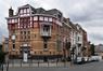Rue des Horticulteurs, vue du troisième tronçon côté pair depuis l'angle de la rue Draps-Dom, 2017