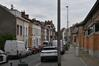Rue des Horticulteurs, vue du dernier tronçon vers l'est, 2017