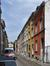 Rue Hubert Stiernet, vue du dernier tronçon (est) vers la rue des Palais Outre-Ponts, 2017