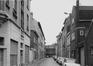 Rue Hubert Stiernet en 1971, vue du dernier tronçon depuis la rue des Palais Outre-Ponts© (© KIK-IRPA Bruxelles)