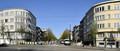 Avenue Jean-Baptiste Depaire, vue depuis l'avenue Stiénon vers l'est© ARCHistory / APEB, 2018