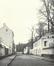 Mellerystraat naar de Wijngaardenstraat omstreeks 1904© (A. COSYN, Laeken Ancien & Moderne, Imprimerie scientifique Charles Bulens, Brussel, 1904, p. 120)
