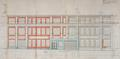 Rue Meyers-Hennau 5-11, fabrique M. Kouperman, projet d'extension aux nos11 à 15, élévation© AVB/TP 65645 (1957)