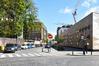 Rue de Molenbeek, vue du dernier tronçon depuis la rue Dieudonné Lefèvre, 2017