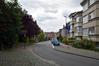 Rue du Mont Saint-Alban, vue vers le sud, 2017