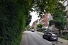 Rue du Mont Saint-Alban, vue de la fin de la rue depuis le boulevard Bockstael, 2017