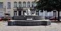 Onze-Lieve-Vrouwvoorplein, fontein Agora, 2017